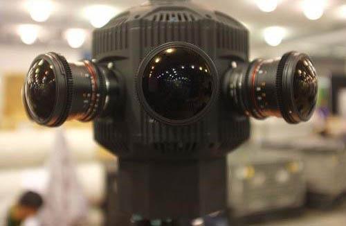 VR全景拍摄相机